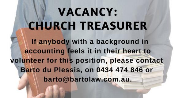 Church treasurer