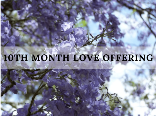 10th month love offering_2